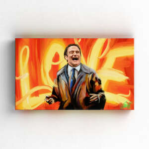LOVE by Consti I Robin Williams I What Dreams May Come I Portrait I Painting