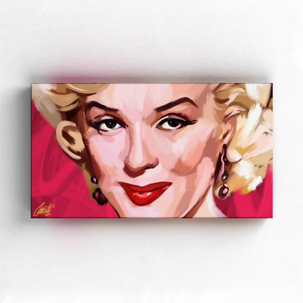 CLASSIC by Consti I Marylin Monroe I Portrait I Painting
