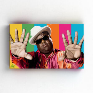 HYPNOTIZE by Consti I Notorious BIG I Biggie I HipHop I Art I Portrait I Painting